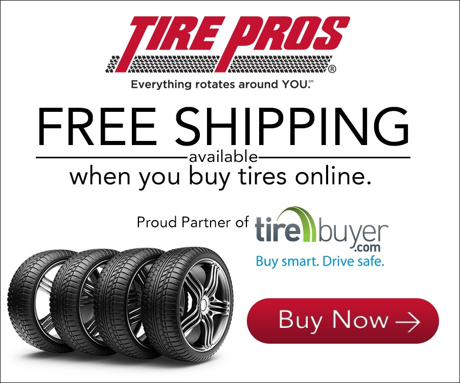 TireBuyer.com through Triple T Tire Pros in Paris and Dyersburg, TN
